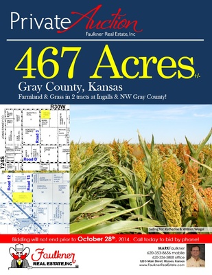 Gray County Kansas Land For Sale